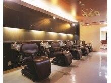 ヘアープレイス ダブリュー 古川橋店(HAIR PLACE W)の雰囲気(シャンプーブースで、心地よいシャンプーを提供♪)