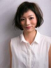 ヘアクリエイト ピアル(Hair Create Piar)【piar】大人可愛いsimpleアシメボブ