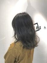 フレイムスヘアデザイン(FRAMES hair design)【外国人風カラー】バレイヤージュ×ハイグレージュ