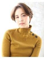 ジョエミバイアンアミ(joemi by Un ami)【joemi 新宿】小顔カット 大人ショート アップセンター(大島)