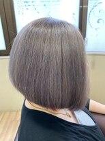 フレア ヘア サロン(FLEAR hair salon)グラボブアッシュシルバー☆