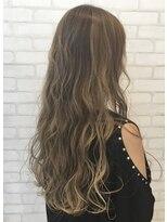 ビス ヘア アンド ビューティー 西新井店(Vis Hair&Beauty)大人かわいい/グレージュ/アッシュベージュ/くせ毛風パーマ