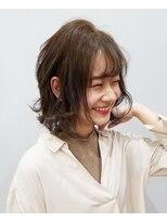 エイム ヘアメイク 横川店(eim HAIR MAKE)eim で叶える♪レイヤーmix☆ゆるふわボブ