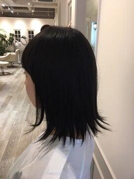 ヘアー カラー キー(HAIR color KEY)外ハネボブ