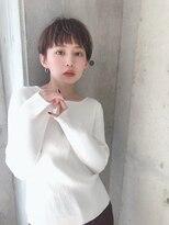 【Lond damaskRose】 オン眉×マニッシュショート by島本