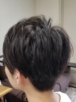 アスクイロハ(Ask168)の写真/【何回でもOK!カット+炭酸プチスパ(10分)¥5500】ライフスタイルに合わせ、扱いやすいスタイルをご提案!