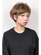 ナンバースリーヘアーラウンジ(N°3 hair lounge)トップふんわり大人ショート♪【N°3 hair lounge 溝の口店】
