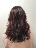 ポッシュ 原宿店(HAIR&MAKE POSH)カラーハイライト(ピンク)