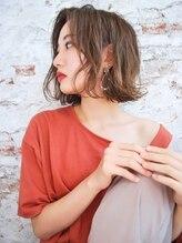 エルバイエルピダアルケー(elle by ELPIDA ARCHE)綺麗ラフウェーブで作る.新作MIXヘルシーレイヤー大人ボブ♪