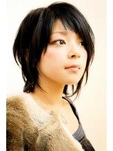 レンジシアオヤマ(RENJISHI AOYAMA)ソフトアシンメトリーウルフ《RENJISHI》