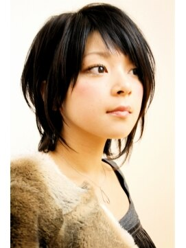 レンジシアオヤマ(RENJISHI AOYAMA) ソフトアシンメトリーウルフ《RENJISHI》