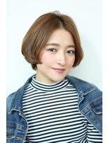 ヘアーメイク リアン 新田辺店(Hair Make REAN)◆REAN 京田辺/新田辺◆センターパートのまとまるショート