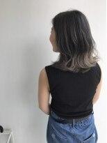 ヘアメイク オブジェ(hair make objet)セミディーでも可愛いグラデーションカラー KAI