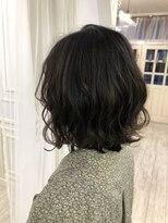 ヘアアンドメイクグラチア(HAIR and MAKE GRATIAE)【7トーン】アッシュグレー☆