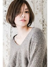 たさわ堂エンネ(enne)ふんわりショートボブ◆暗髪◆大人可愛い【大上美奈子】