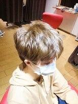 ヘアラボウィッシュ(hair labo Wish)刈り上げショートボブ