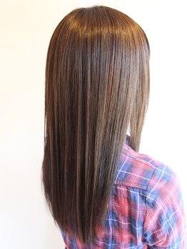 フォセット(fossette)の写真/《fossette》髪・地肌にとても優しい考え抜かれたこだわりの縮毛矯正♪柔らかく心地良い質感へ…!