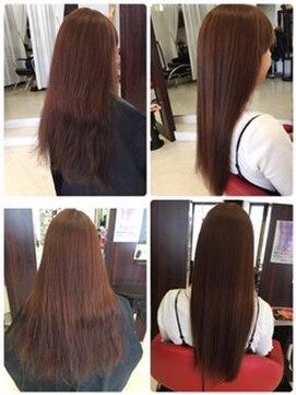 ヘアーメイク カリユ(HAIR MAKE kariyu)チューニングのビフォーアフター