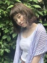 クリアーオブヘアー 栄南店(CLEAR of hair)【CLEAR】ミニマムボブのパーマスタイル