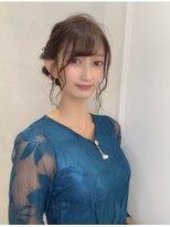 【Euphoria橋本夢香】結婚式綺麗めアップスタイル◎
