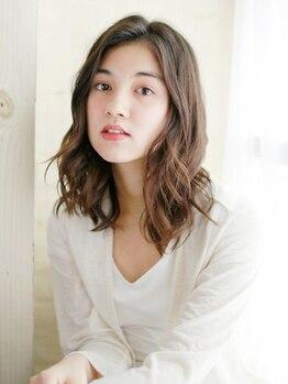 """アルカ(ARCA)の写真/""""髪の毛にやさしい""""デジタルパーマで、理想のstyle&質感に仕上げます。"""