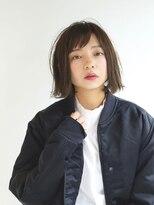 ヘアーアンドレイ エビス(hair.andrey EBISU)【andrey Ebisu】シンプル外ハネボブ[junya]