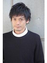 バンビーニ黒髪だからこそカッコ良い☆ウルフショート☆