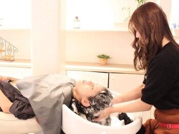 クリエイティブ スペース リッシュ(creative space riche)の写真/【駅チカ☆門戸厄神駅徒歩1分】頭皮ケアで髪も心もリフレッシュ☆健康な地肌と髪を育む極上ヘッドスパを♪