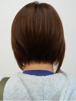 サロンドボーテ(SALON DE BEAUTE)の写真/【理想の髪型が叶う♪】一人一人の違った魅力を引き出し、骨格・雰囲気に合った施術で美しいシルエットに*