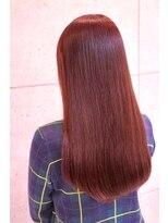 【ONE HAIR】ツヤ感☆pinkロング