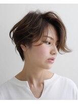 エトワール(Etoile HAIR SALON)ハンサムショート/ベージュ