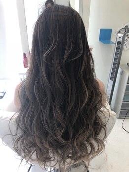 ヘア デザイン セン(hair Design Sen)の写真/【羽島】いつものカラーにハイライトをプラス☆動きのあるスタイルやふんわり感を再現するデザインカラー♪