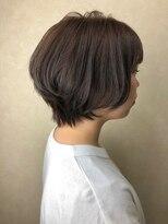 ヘア プロデュース キュオン(hair produce CUEON.)ショート × カーキグレージュ