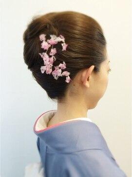 結婚式 和装 髪型 ナヴィ 赤坂店(NaVie)着物ヘア