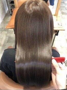 クーペ(coupe)の写真/【しなやか】話題の髪質改善を更に進化させた質感調整です!乾かすだけでまとまる質感に感動◎
