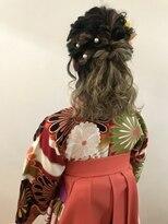 卒業式☆袴☆着付けヘアセット