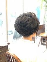 ベル(BELL)スタイリング簡単★ショートパーマスタイル【BELL桜新町/用賀】