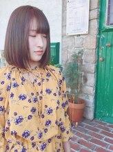 ウミヘアー(umi.hair)柔らかボブ