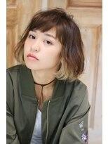 サンク ドリームプラザ店(CINQ)【CINQ】大柳 インナーカラー×ボブ