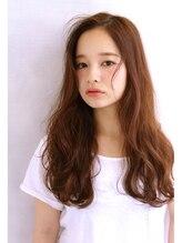 ヘアーサロン リセ 心斎橋(hair salon rise)暖色系カラーが可愛いヘルシーロング