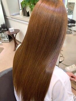 サウス モンド(SOUTH MOND)の写真/加齢やダメージによるうねりは髪質改善コースで自然なストレートに!1回施術での仕上がりにこだわります★