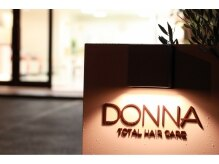 ドナ(DONNA)の雰囲気(やわらかい雰囲気の外観で初めての方も気軽に入りやすい♪)