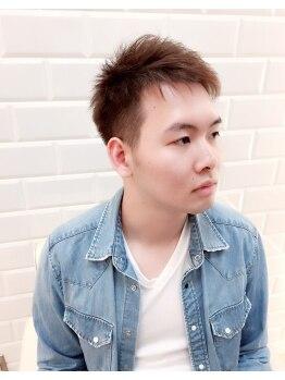 リトルフェイスウノ 新越谷西口駅前店(little face UNO)の写真/乾かすだけで楽々決まるヘアスタイルに★周りに差のつく《大人かっこいいスタイル》をご提案致します。