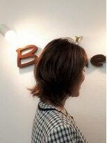 美容室 ボヌール【ボヌール】透明感×深みカラー【ツヤふわ】