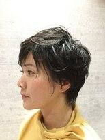 レザボア ヘアーアンドビューティー ハイブ店(reservoir Hair&Beauty Haibe)クール エアリー ショート