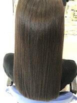 プラウドサラサラロング☆冬カラーの美髪スタイル