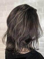 オーブ ヘアー レフィール 金沢店(AUBE HAIR lefeel)【AUBE HAIR】セミハイライト_フリンジロブ