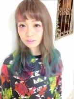 アリス ヘア デザイン(Alice Hair Design)Alice☆毛先オーロラカラー