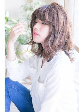 フレイムス ヘアアンドリラックス 東川口店(Frames hair&relax)ロブセミディー