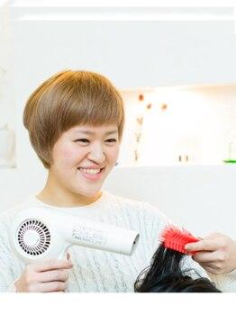 恋する毛髪研究所 金町laboの写真/髪のダメージが気になる方に◎計算されたダメージレスな施術×薬剤でふんわり艶やかカールが叶う☆